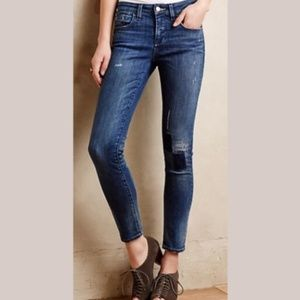 Anthropologie Pilcro & Letterpress Skinny Jeans 25